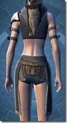 Temple Watchman's Vest - Female Back