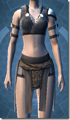 Temple Watchman's Vest - Female Front
