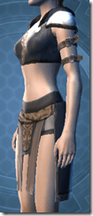 Temple Watchman's Vest - Female Left