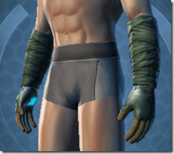 Tranquil Mystic Male Gauntlets