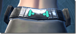 Traveler's Belt - Female Back