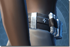 Traveler's Belt - Female Right