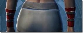 Traveler's Cuffs - Female Back