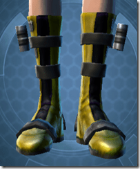 Vindicator's Boots Dyed