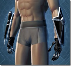 B-200 Cybernetic Male Gauntlets