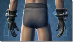 Battle Gauntlets - Male Back