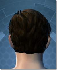 Battle Headguard - Male Back