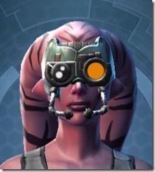 Battle Headguard - Twi'lek Front