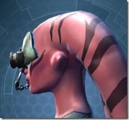 Battle Headguard - Twi'lek Left