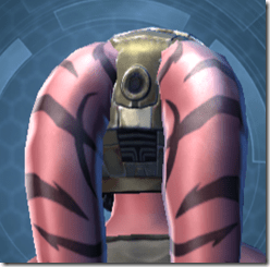 Blastguard Helmet MKII - Twi'lek Back