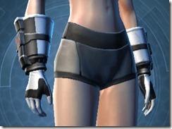 Dark Legionnaire Female Gauntlets