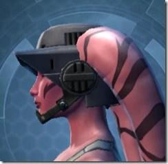 Flak Helmet MKII - Twi'lek Left