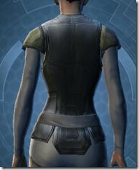 Guardsman's Chestguard - Female Back