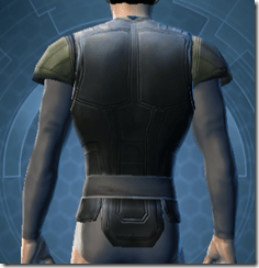 Guardsman's Chestguard - Male Back