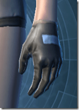 Guardsman's Gloves - Female Left