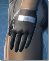 Guardsman's Gloves - Male Left
