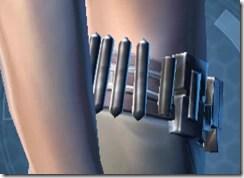 Indignation Belt - Female Right