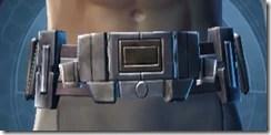 Indignation Belt - Male Front