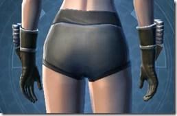 Indignation Handgear - Female Back