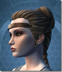 Indignation Headgear - Female Left