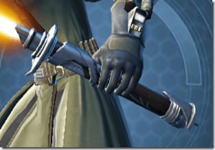 Initiate's Offhand Saber - Front