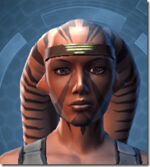 Inspiration Headgear - Twi'lek Front