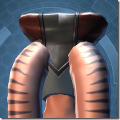 Introspection Headgear - Twi'lek Back