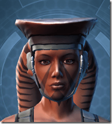 Introspection Headgear - Twi'lek Front