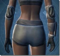 Plastoid Hangguards - Female Back