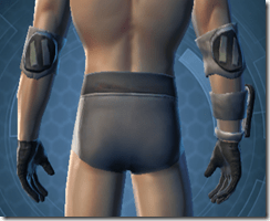 Plastoid Hangguards - Male Back