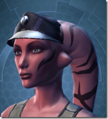 RD-03A Recon Headgear - Twi'lek Left