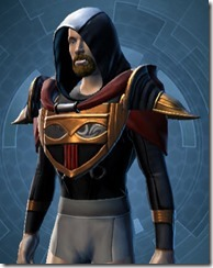 Revanite Champion Male Upper Robe