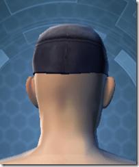 TD-03A Saboteur Headgear - Male Back