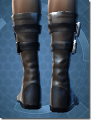 Trellised Boots - Female Back