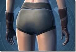 Trellised Gauntlets - Female Back