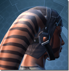 Trellised Helm - Twi'lek Right