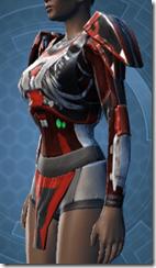 Advanced Composite Flex Body Armor - Female Left