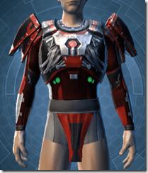 Advanced Composite Flex Body Armor - Male Front