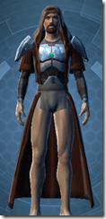 Concentrated Battle Chestguard - Male Front