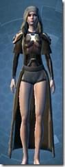 Memory Fiber Body Armor - Female Front