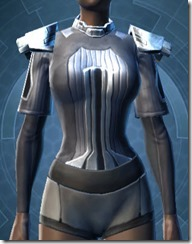 Overseer Body Armor - Female Front