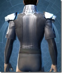 Overseer Body Armor - Male Back