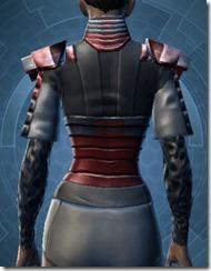 Rigid Flex Chestguard - Female Back