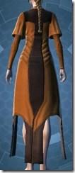 Ruusaan Reflection Fiber Chestguard - Female Back