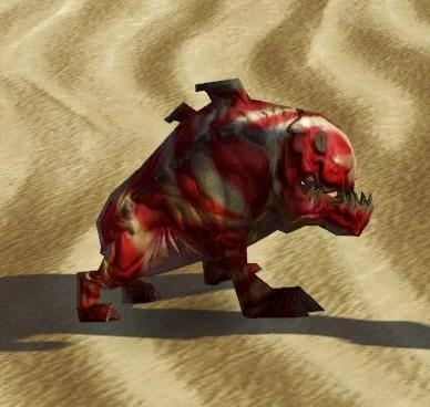 Scarlet Mouse Horranth Side