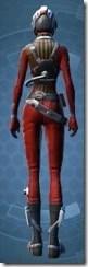Squadron Leader - Female Back