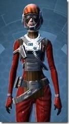 Squadron Leader - Female Close