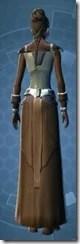 Armored Diplomat - Female Back