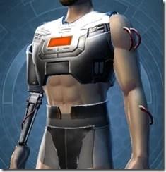 B-400 Cybernetic Male Breastplate