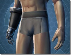 B-400 Cybernetic Male Gauntlets
